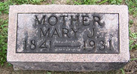 PARKINSON, MARY J. - Jackson County, Iowa | MARY J. PARKINSON