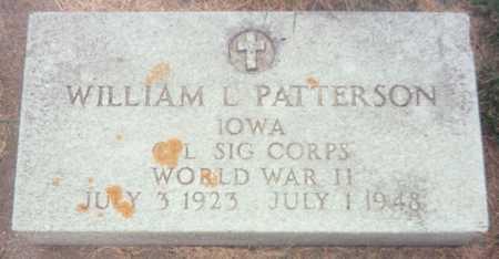 PATTERSON, WILLIAM L. - Jackson County, Iowa | WILLIAM L. PATTERSON
