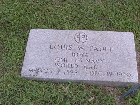 PAULI, LOUIS - Jackson County, Iowa | LOUIS PAULI
