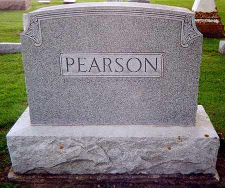 PEARSON, FAMILY MONUMENT - Jackson County, Iowa   FAMILY MONUMENT PEARSON