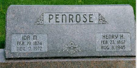 PENROSE, HENRY - Jackson County, Iowa | HENRY PENROSE