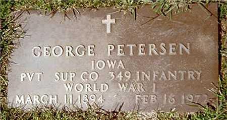 PETERSEN, GEORGE - Jackson County, Iowa | GEORGE PETERSEN