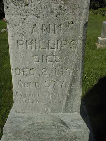 PHILLIPS, ANN - Jackson County, Iowa | ANN PHILLIPS