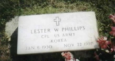PHILLIPS, LESTER - Jackson County, Iowa | LESTER PHILLIPS