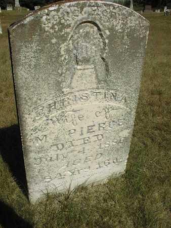 PIERCE, CHRISTINA - Jackson County, Iowa | CHRISTINA PIERCE