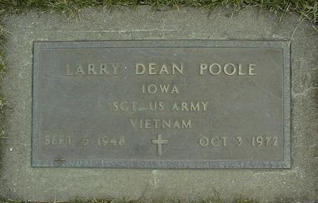 POOLE, LARRY DEAN - Jackson County, Iowa | LARRY DEAN POOLE