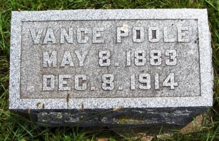 POOLE, VANCE - Jackson County, Iowa | VANCE POOLE