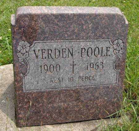 POOLE, VERDEN - Jackson County, Iowa | VERDEN POOLE