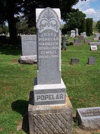 POPELAR, JOSEF - Jackson County, Iowa | JOSEF POPELAR