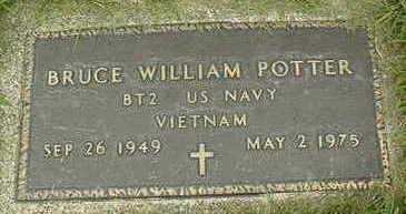 POTTER, BRUCE WILLIAM - Jackson County, Iowa   BRUCE WILLIAM POTTER