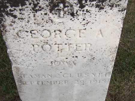 POTTER, GEORGE A. - Jackson County, Iowa | GEORGE A. POTTER