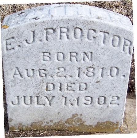 PROCTOR, E.J. - Jackson County, Iowa | E.J. PROCTOR