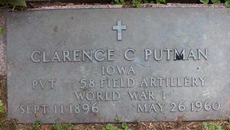 PUTMAN, CLARENCE C. - Jackson County, Iowa | CLARENCE C. PUTMAN