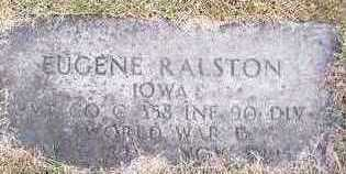 RALSTON, EUGENE - Jackson County, Iowa   EUGENE RALSTON