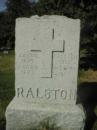 RALSTON, SARAH - Jackson County, Iowa | SARAH RALSTON