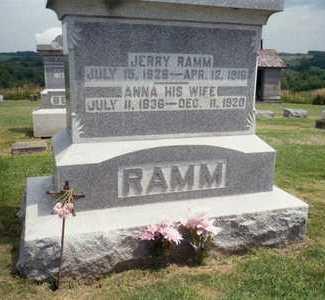 RAMM, ANNA - Jackson County, Iowa | ANNA RAMM