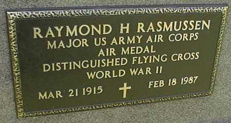 RASMUSSEN, RAYMOND H. - Jackson County, Iowa   RAYMOND H. RASMUSSEN