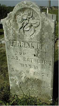 RATHBUN, FERRAL R. - Jackson County, Iowa | FERRAL R. RATHBUN