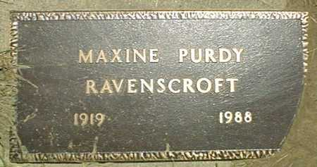 RAVENSCROFT, MAXINE - Jackson County, Iowa | MAXINE RAVENSCROFT