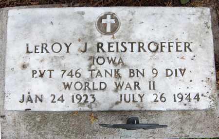 REISTROFFER, LEROY J. - Jackson County, Iowa | LEROY J. REISTROFFER