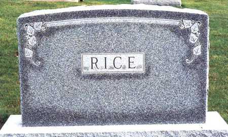 RICE, FAMILY MONUMENT - Jackson County, Iowa | FAMILY MONUMENT RICE