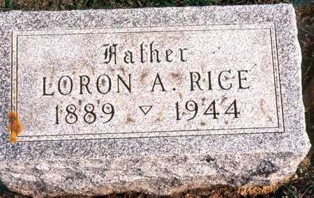 RICE, LORON ARNOLD - Jackson County, Iowa | LORON ARNOLD RICE