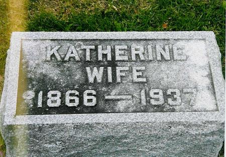 ZITTERELL RIEDINGER, KATHERINE - Jackson County, Iowa | KATHERINE ZITTERELL RIEDINGER