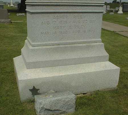 RILEY, CAPT. ASHER - Jackson County, Iowa | CAPT. ASHER RILEY