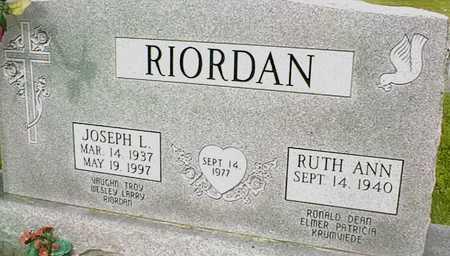 RIORDAN, JOSEPH L. - Jackson County, Iowa | JOSEPH L. RIORDAN