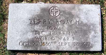 ROACH, TERRY - Jackson County, Iowa   TERRY ROACH