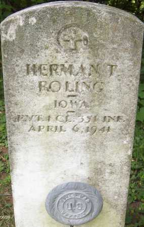 ROLING, HERMAN T. - Jackson County, Iowa | HERMAN T. ROLING