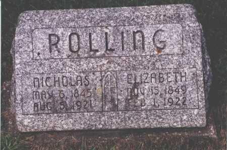 NIEMANN ROLLING, ELIZABETH - Jackson County, Iowa | ELIZABETH NIEMANN ROLLING