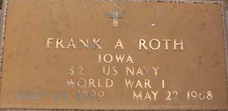 ROTH, FRANK A. - Jackson County, Iowa | FRANK A. ROTH