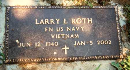 ROTH, LARRY L. - Jackson County, Iowa | LARRY L. ROTH