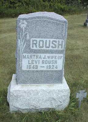 ROUSH, MARTHA J. - Jackson County, Iowa | MARTHA J. ROUSH