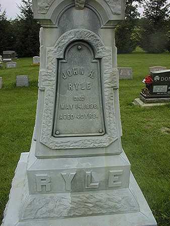 RYLE, JOHN H. - Jackson County, Iowa   JOHN H. RYLE