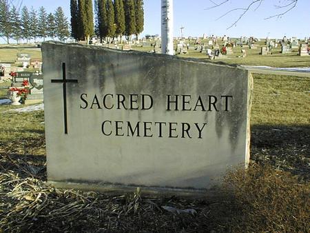 SACRED HEART, CEMETERY - Jackson County, Iowa | CEMETERY SACRED HEART