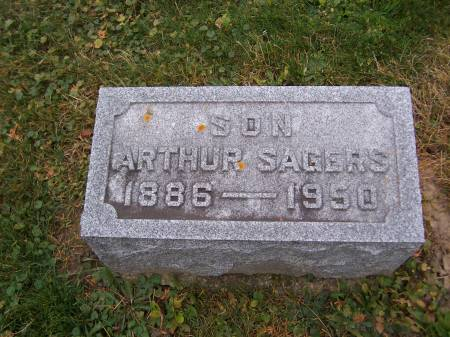 SAGERS, ARTHUR - Jackson County, Iowa   ARTHUR SAGERS