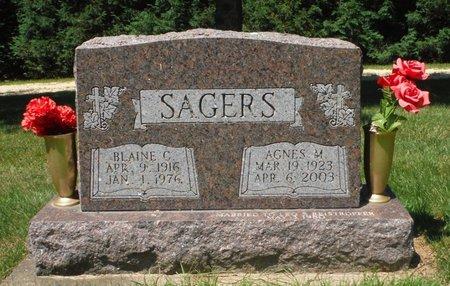 BEAUCHAMP SAGERS, AGNES M. - Jackson County, Iowa | AGNES M. BEAUCHAMP SAGERS