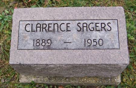 SAGERS, CLARENCE - Jackson County, Iowa | CLARENCE SAGERS