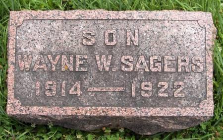 SAGERS, WAYNE W. - Jackson County, Iowa | WAYNE W. SAGERS