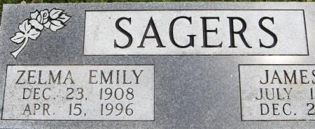 SAGERS, ZELMA EMILY - Jackson County, Iowa | ZELMA EMILY SAGERS