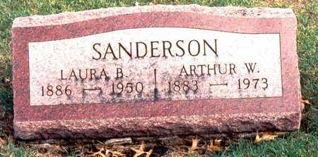 SANDERSON, ARTHUR WILSON - Jackson County, Iowa   ARTHUR WILSON SANDERSON