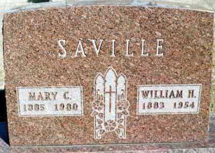 SAVILLE, WILLIAM H. - Jackson County, Iowa | WILLIAM H. SAVILLE