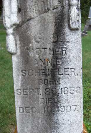 SCHEITLER, ANNE - Jackson County, Iowa | ANNE SCHEITLER