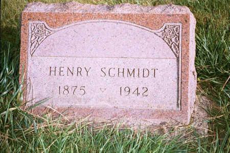SCHMIDT, HENRY - Jackson County, Iowa | HENRY SCHMIDT