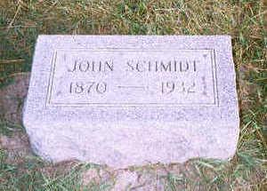 SCHMIDT, JOHN - Jackson County, Iowa | JOHN SCHMIDT