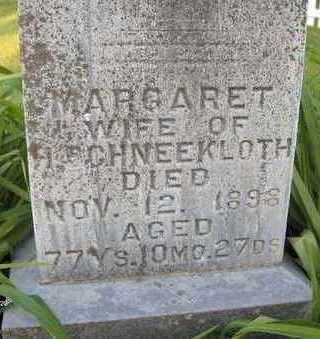 SCHNEEKLOTH, MARGARET - Jackson County, Iowa | MARGARET SCHNEEKLOTH