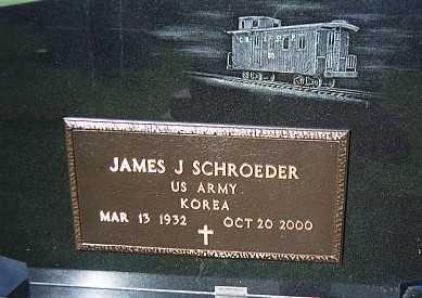 SCHROEDER, JAMES J. - Jackson County, Iowa   JAMES J. SCHROEDER