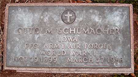 SCHUMACHER, OTTO M. - Jackson County, Iowa   OTTO M. SCHUMACHER